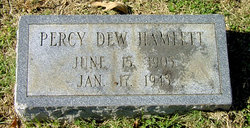 Percy Dew Hamlett