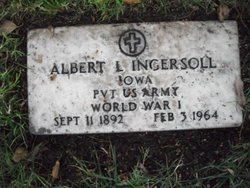 Pvt Albert Lloyd Ingersoll