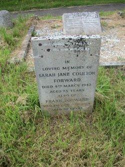 Sarah Jane Coulton Forward