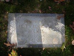 Lidie V. <I>Komrowski</I> Holmes