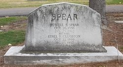 Ethel R <I>Clugston</I> Spear