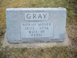 Norah <I>Moyer</I> Gray
