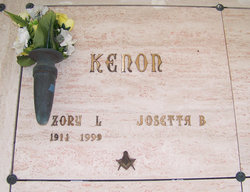 Josetta <I>Bacon</I> Kenon