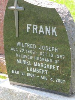 Muriel Margaret <I>Lambert</I> Frank