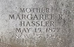 Margaret Rebecca <I>Hassler</I> Clugston