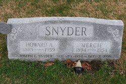 Howard A Snyder