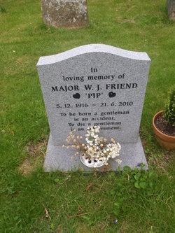 "Maj W P ""Pip"" Friend"
