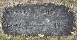 Myrne Amy <I>Halverson</I> Johnson