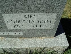 Lauretta <I>Beyel</I> Blixt