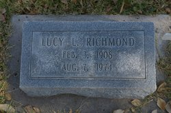 Lucy L <I>Noling</I> Richmond