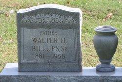 Walter H Billups, Sr