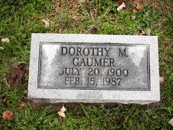 Dorothy M <I>Bryant</I> Gaumer