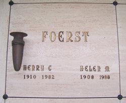 Helen M Foerst