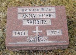 Anna <I>Hoar</I> Skubitz