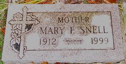 Mary F <I>Schultz</I> Snell