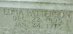 Edna <I>Patterson</I> Conner