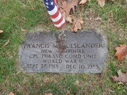 Francis Miller Hulslander