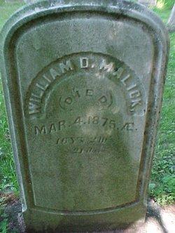 William D. Malick