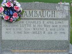 Lottie May <I>Smith</I> Shambaugh