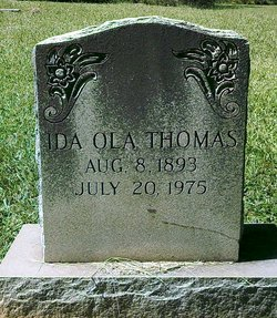Ida Ola Thomas