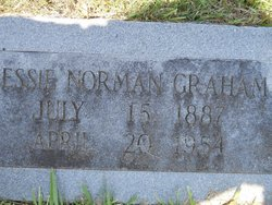 Jessie <I>Norman</I> Graham