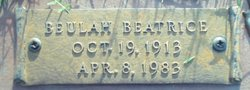 "Beulah Beatrice ""Boots"" <I>McLaughlin</I> Berry"