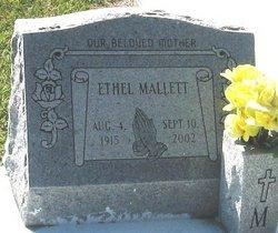 Ethel <I>Broussard</I> Mallett