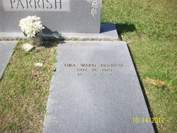 Ora <I>Ward</I> Parrish