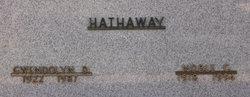 Gwendolyn Delia <I>Allen</I> Hathaway