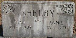 Annie <I>Jones</I> Shelby