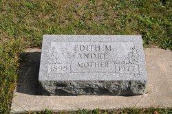 Edith M <I>Lang</I> Andre