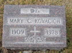 Mary C <I>Dwyer</I> Kovacich