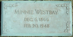 Minnie <I>Westphal</I> Westbay