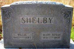 Mary Susan <I>Morgan</I> Shelby