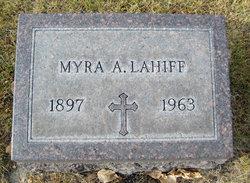 Myra A Lahiff
