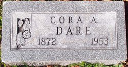 Cora Augusta <I>Applegate</I> Dare