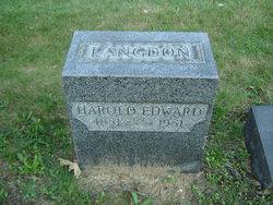 Harold Edward Langdon