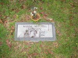 Wanda Mitchell Hursey