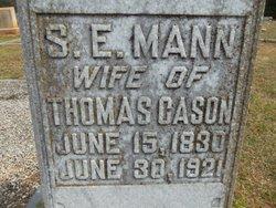 S E <I>Mann</I> Cason