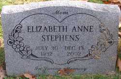 Elizabeth Anne Stephens