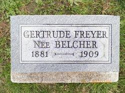 Gertrude <I>Belcher</I> Freyer