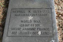 PVT Merrill N Gutshall