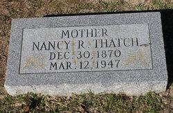 Nancy Rebecca <I>Black</I> Thatch