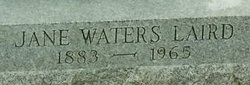 Jane <I>Waters</I> Laird