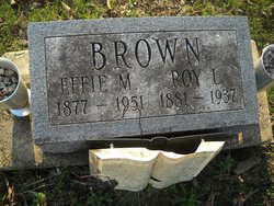 Effie May <I>Cox</I> Brown