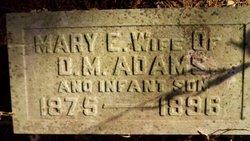 Infant Son Adams