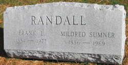 Mildred <I>Sumner</I> Randall