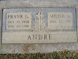 Frank G Andre