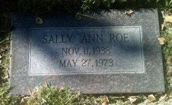 Sally Ann Roe