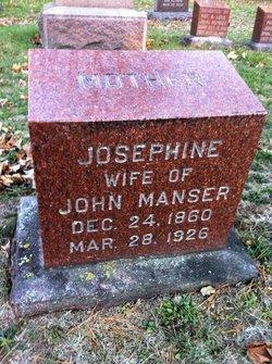 Josephine <I>Jones</I> Manser
